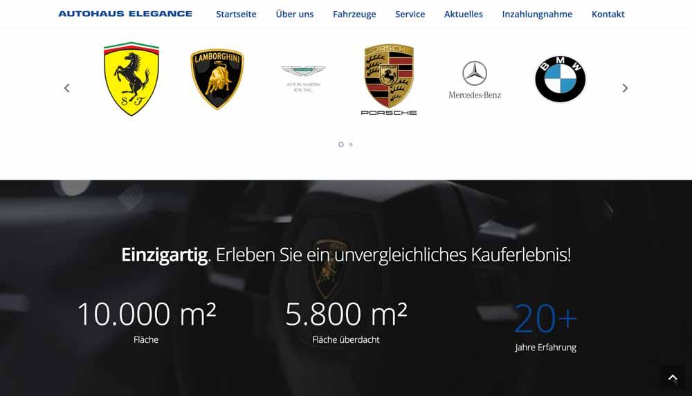 autohaus-elegance-webdesign 2
