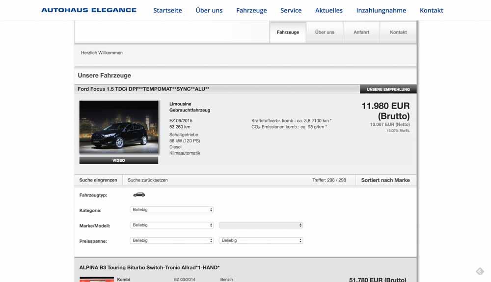 autohaus-elegance-webdesign 3
